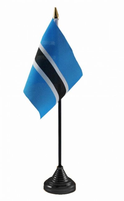 BOTSWANA - Table Flag